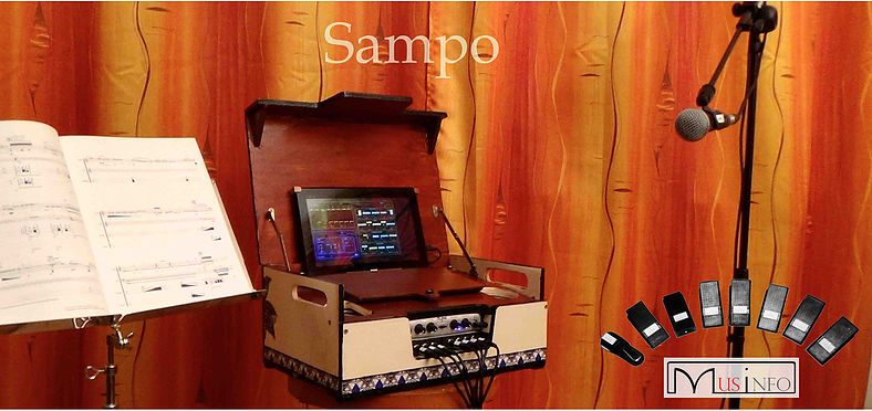 Music at Brunel Presents:  Sampo – the magic mixing box